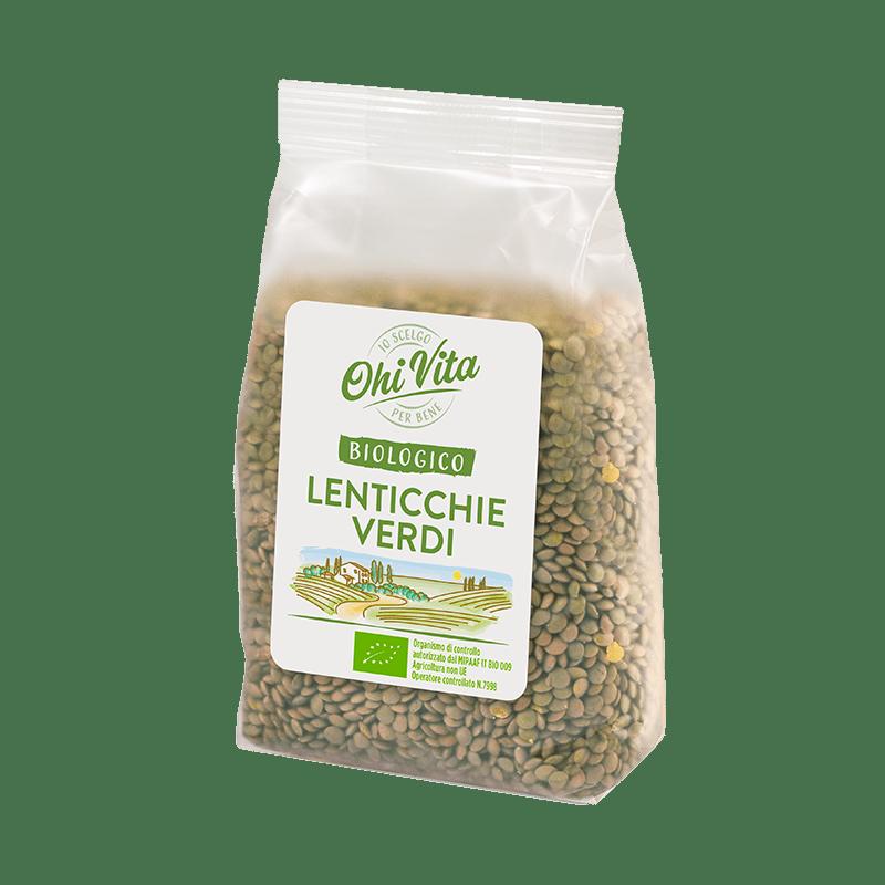 Lenticchie verdi secche Box